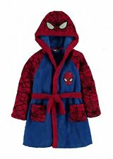 SPIDERMAN:DRESSING GOWN/ROBE,GORGEOUS,4/5,6/7,8/9YR, NEW WITH TAGS
