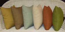 SET OF 2 TOMMY BAHAMA FABRIC INDOOR OUTDOOR THROW PILLOWS -CHOOSE SOLID COLORS