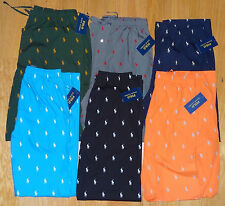 NWT New Polo Ralph Lauren Pajamas Lounge Pants Sleepwear Pony All Over S M L XL