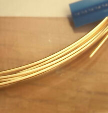 14K Solid YELLOW GOLD ROUND WIRE 3or6 inches Gauges 14 16 18 20 22 24 26 28