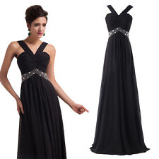 XMAS DISCOUNT Womens Long Formal Pageant Gown Prom Party Cocktail Evening Dress