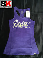 "Everlast Tank / Singlet Womens Purple ""Never Give Up"" BNWT"