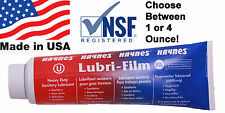 Lubri-Film O-ring Lubricant and Food Grade Equipment Lube, NSF Rated Free Ship