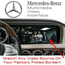 MERCEDES S CL CLASS NTG3.5 CAR Multimedia Video Interface + SMARTPHONE mirroring