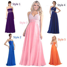 FairOnly Long Bridesmaid Evening Formal Party Prom Dress Size 6 8 10 12 14 16