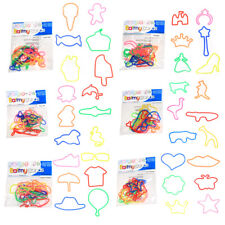 Crazy Kids' Rubber Gummy Barmy Bands Party Favour Loot Bag 12 packs 144 bands