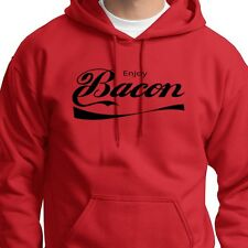 Enjoy BACON food Party T-shirt Funny Pork Humor college Gift Hoodie Sweatshirt