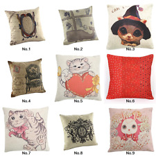 """New Classic Design Hold Cushion Cover Throw Pillow Case 18"""" Decorative Map Royal"""