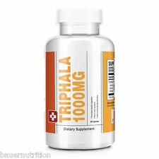 New Triphala 1000mg - Cleanse Detox Weight Loss Supplement in Various Quantities