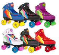 SFR Rio Roller Disco Quad Roller Skates - Various Colours - Size Kids 12 to UK9