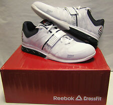 Reebok Crossfit Lifter 2.0 Men's Shoe White/Navy/Porcln NEW M43658 Several Sizes