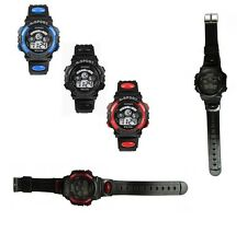 Digital Sports Watch Alarm Date Stopwatch Chronograph Girls Boys Ladies Mens
