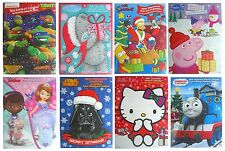 CHARACTER CHRISTMAS (XMAS) CHOCOLATE ADVENT CALENDARS - Range of Characters