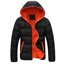2015 NEW COLD Weather Mens Warm Thick Down Hooded Coats Jackets Outwear Overcoat