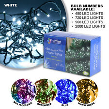 Multi Action LED Cluster Christmas Lights Lighting Tree Outdoor & Indoor