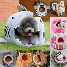 Soft Cute Warm Animal Character Fleece Pet Bed House Mat for Dog Puppy Cat Teddy