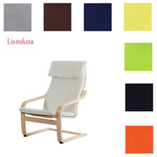 Custom Made Armchair Cover, Fits IKEA Poang Chair, Replace Chair Cover