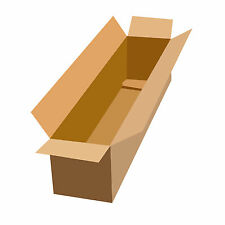 Cardboard Boxes - 2ft, 3ft, 6ft Long Packaging Box 24cm to 18cm Single Wall Plus