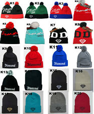 Arrival Men's WOMEN Diamond supply co DMND Beanies Winter Cotton knit wool Hats