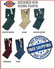 NWT 874 DICKIES WORK PANTS GH KH LN MR NV STRAIGHT LEG CLASSIC FIT ALL COLORS