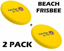 Steeden Surf Life Saving Association Beach Frisbee (2 Pack) + Free Aus Delivery
