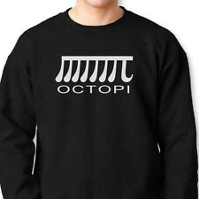 OCTOPI Funny Nerd Humor T-shirt Math PI Geek Octopus Crew Neck Sweatshirt