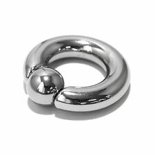 Surgical Steel Snap BCR Ring 4mm - 12mm -- BODY PIERCING JEWELLERY