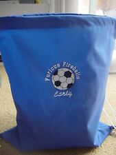 Personalized Boys Girls Soccer Sports Bag Drawstring Backpack Waterproof