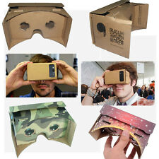 Fashion DIY Cardboard 3D VR Virtual Reality Glasses Android 4.1 3D Viewing xp ca