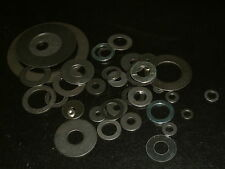 Mild Steel Washers-Choose from M2/M3/M4/M5/M6/M8/M10/M12/M14 and M16. 10 per Pk