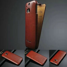 Luxury Premium Fashion Ultra Slim Leather Flip Case Cover for HTC ONE 2 M8 2014