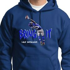 Odell Beckham Jr. Bring It Like Beckham Giants Catch of the Year Hood Sweatshirt