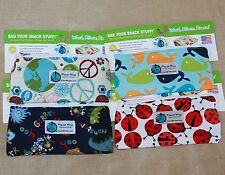 PLANET WISE Sandwich zipper SNACK BAG Reuseable Lunch Box USA MADE baggie taxi