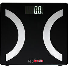 App Health Bluetooth Digital Scale Body Fat Weight Analysis for iPhone 5S 6 iPad