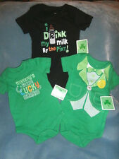 Infant Baby Bodysuit Creeper Tee - Unisex - St. Patrick's Day - You Choose - NWT