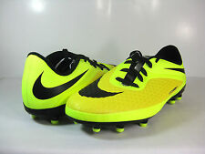 NIKE JR HYPERVENOM PHELON FG Vibrant Yellow/Black -599062 700- BOYS/GIRLS