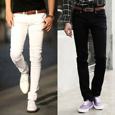 ❤Cyber monday❤ Sexy Men Slim Fit  Long Cotton Casual Pants Trousers Skinny Jeans