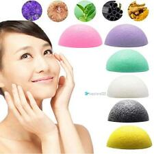 Hot Natural Konjac Konnyaku Facial Puff Face Deep Cleansing Washing Sponge TRC
