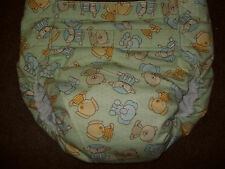 Dependeco All In One flannel adult baby diaper S/M/L/XL  (cute animals)