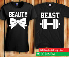 Beauty and the Beast Couples matching Cute Shirts - Price is for 2