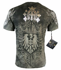 New Arrival Xzavier Delusion  T shirt Birth & Death of Warriors Mens All Sizes