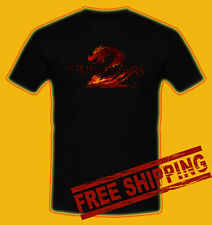 GW2 GUILD WARS 2 GAME Black t-shirt all size 100% money back guarantee