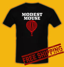 MODEST MOUSE INDIAN indie rock Black t-shirt all size 100% money back guarantee