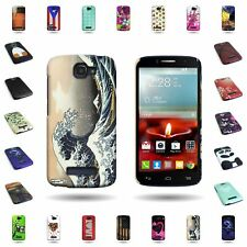 ALCATEL One Touch Fierce 2 / Pop Icon Hard Slim Tribal Design Snap On Cover Case