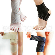 Adjustable Sport Gym Protective Stretch Strap Elbow Wrist Feet Knee Support Wrap