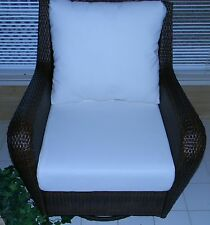 "24""x24"" Cushion Set for Patio Outdoor Deep Seat Furniture Chair-Choice of Solids"