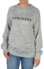 Converse Women's All Star Converse Crew Sweat Shirt-Snow Heather