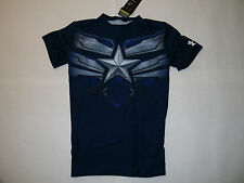 Under Armour HG Alter Ego Captain America Winter Soldier  man shirt Brand New