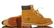 """[12909] TIMBERLAND 12909 6"""" PREMIUM WHEAT GS JUNIOR SIZE 4-7Y WATERPROOF BOOTS"""