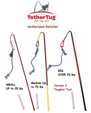 Tether Tug Outdoor Dog Toy Interactive Backyard Tugging Pull Exercise Toys S-XL